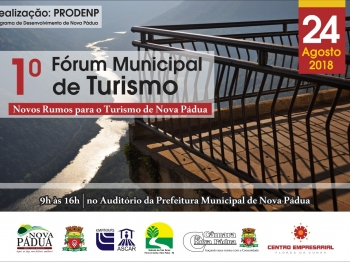 1º Fórum Municipal do Turismo
